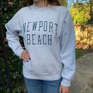 Brandy Melville Newport Beach crewneck